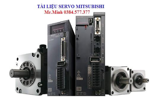 Tài liệu servo Mitsubishi