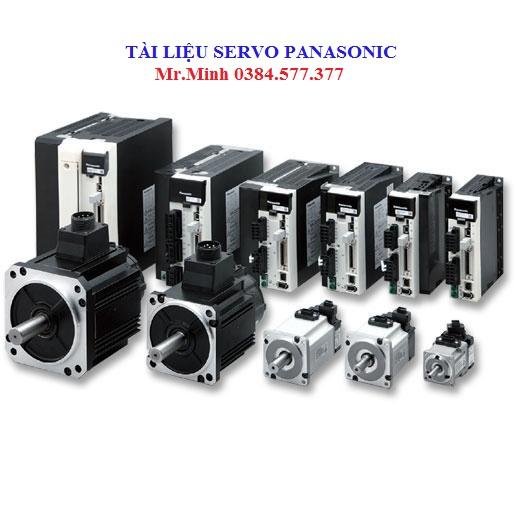 Tài liệu servo Panasonic